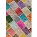 Koberec, vícebarevný, 80x300, ADRIEL