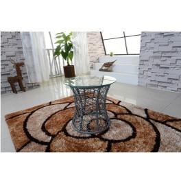 Příruční stolek, šedá, SALMAR