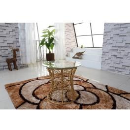 Příruční stolek, béžová, SALMAR
