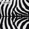 Koberec, vzor zebra, 40x60, ARWEN